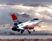 <p>Phil Oestricher narrates Flight 0 of the General Dynamics YF-16 fighter prototype, which came on 20 January 1974 at Edwards AFB, California. Oestricher was the test pilot.</p>