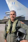 Col. Kostas Vouzios, commander of 116 CW since June 2008, has overseen the base's transition to the new F-16s.