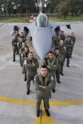 Most of the F-16 pilots at Araxos are former F-16 pilots who went through training at Souda Bay to transition from other versions of the F-16 to the new Block 52+. Some are former A-7 pilots.