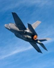 F-35B BF-4 In Afterburner