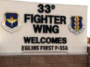 <p>The first production model F-35 Lightning II to be assigned to the 33rd Fighter Wing, the&nbsp;Lightning II training&nbsp;unit,&nbsp;arrived at Eglin AFB, Florida, on 14 July 2011 after a ninety-minute ferry flight from Fort Worth, Texas. The aircraft, Air Force serial number 08-0747, will be used for training F-35 pilots and maintainers who begin coursework at the base&rsquo;s new F-35 Integrated Training Center this fall. The aircraft was flown to Florida by&nbsp;Lt. Col. Eric Smith of the 58th Fighter Squadron, the first Air Force qualified F-35 line pilot.</p>