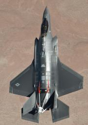 F-35A With Spin Chute