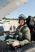 29 June 2012: US Marine Corps Maj. Jon Ohman qualified as the most recent F-35 pilot at NAS Patuxent River, Maryland. The 1.8-hour check flight marked F-35C CF-2 Flight 115.