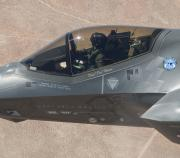 F-35A AF-1 With Weapons Marks