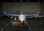 F-16 In The Anechoic Chamber