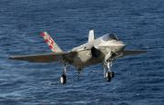 F-35C Carrier Approach