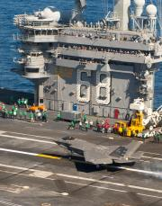 F-35C First Carrier Landing