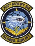 The 709th Airlift Squadron (709 AS) is part of the 512th Airlift Wing at Dover Air Force Base, Delaware.