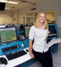 Starr Hughes joined the F-35 program in 2003 as a flight test engineer and test conductor for the first F-35, or AA-1, which is a CTOL version of the Lightning II. She brings flight test experience from Raytheon where she worked on the flight test team for the Hawker Horizon business jet.