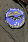 Participants at Falcon Air Meet 2009 all proudly displayed the official patch for the event.