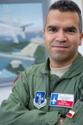 The basic course students are always very motivated and smart. But they know very little about the F-16. By the time they leave, they can employ it as a weapon system.