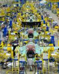 F-35 assembly line in Fort Worth.
