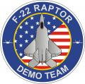 1 December 2006: The F-22 officially replaces the F-15 as the aerial platform for the US Air Force East Coast Demonstration Team. Maj. Paul Moga of the 1st FW at Langley AFB becomes the first demonstration pilot for the team.