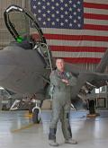 6 April 2012: Lockheed Martin test pilot James Brown becomes the second Raptor pilot to record 1,000 flight hours. His milestone flight occurs at Edwards AFB.
